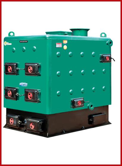 单室双层气化节煤环保常压热水锅炉